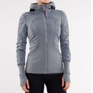 Lululemon Dance Studio Gray Reversible Jacket